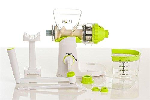 Koju Extractor de zumo Manual X Hierba de trigo y hojas verdes BPA Free: Amazon.es: Hogar