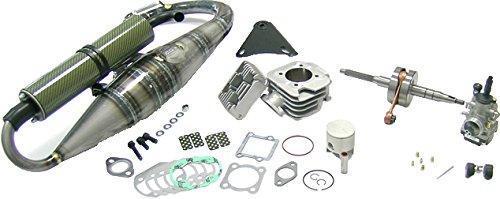 Athena Big Bore Hyper Race Cylinder Kit (70cc) - 47.66mm Bore 081000/1 (Bore Kit Race)