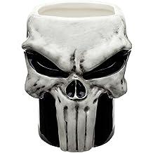 Zak Designs DDTA-1593-B Marvel Comics Coffee Mugs, Sculpted, Punisher
