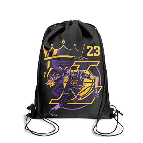 GUYI3 Bags Daily Cool Labron-Show-time- Drawstring Bags for Women & Men