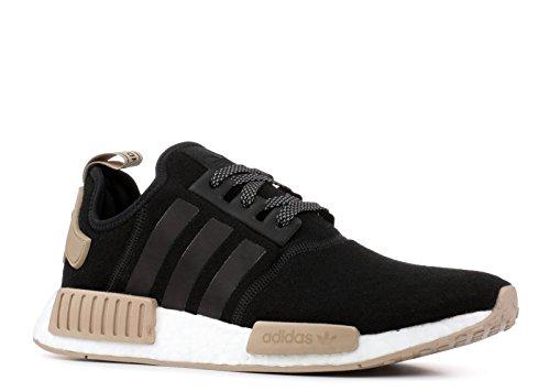 Adidas Originals Hombres Nmd_r1 Sneaker Negro / Blanco / Color Caqui