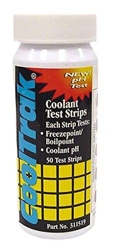 Cool Engine Coolant (Cool-Trak 311519 Coolant Testing Strips - Set of)