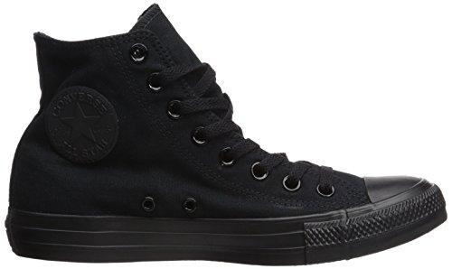 All Black Schwarz Star Sneaker Converse Monochrome Damen 5xFq11