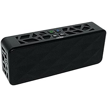 Jensen Portable Bluetooth Wireless Rechargeable Speaker For  IPod,iPad,iPhone And Smartphones
