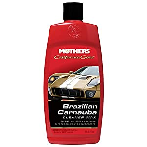 Mothers 05701 California Gold Brazilian Carnauba Cleaner Liquid Wax - 16 oz.