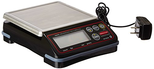 Rubbermaid Commercial Products 1812592 Full-Size Digital Scale for Foodservice Portion Control, 24 lb (24 Scale)