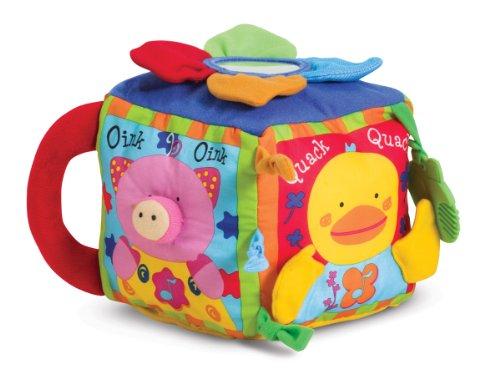 41XdbRotMIL - Melissa & Doug K's Kids Musical Farmyard Cube Educational Baby Toy