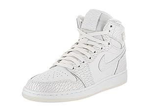 the best attitude daf48 dd386 ... Jordan Nike Kids Air 1 Ret Hi Prem HC Gg White. upc 886668560892  product image1
