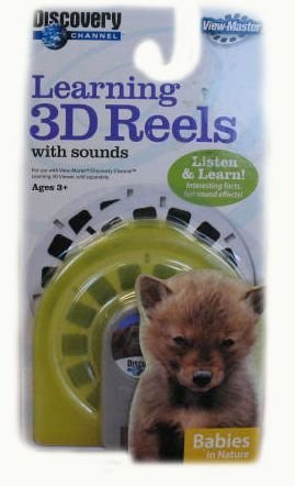 Learning 3d Reels - View-Master Discovery Learning 3D Reels with Sound: Babies in Nature
