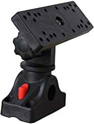 Rfvtgb Universal Marine Electronic Fish Finder Mount Fishfinder GPS Plate Rotating Boat Supporter