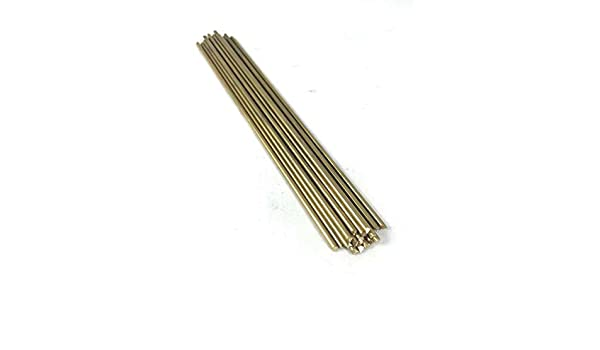 """8 Pieces of 3//16/"""" C360 BRASS SOLID ROUND ROD 14/"""" long .187/"""" Lathe Bar Stock"""
