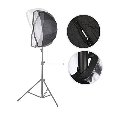 IMONIC Professional 80cm / 31.5in Octagon Umbrella Softbox Brolly Reflector for Speedlite