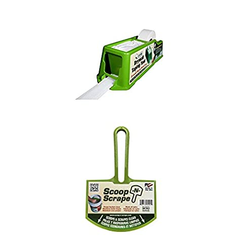 Tape Buddy Bundle- Drywall Taping Tool And Scoop-N-Scrape Bucket Tool (Drywall Tool Taping)