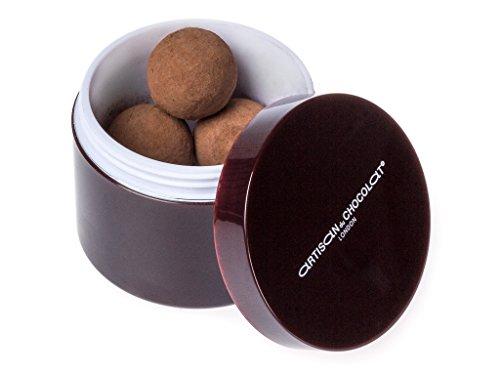 Artisan du Chocolat 'N°1 Sea Salted Caramels' balls of dark chocolate filled with caramel and sea salt