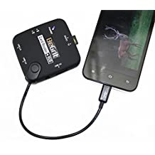 BeGrit Game Trail Camera Viewer for Android Phones, Micro USB Hub Connector, SD TF Cards T-Flash Card Reader and USB Flash Drive