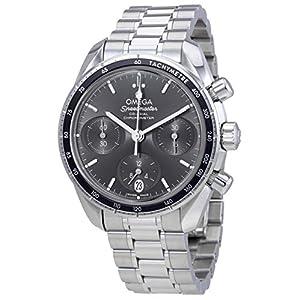 Omega Speedmaster 324.30.38.50.06.001 - Reloj cronógrafo automático para Hombre, Esfera Gris 8