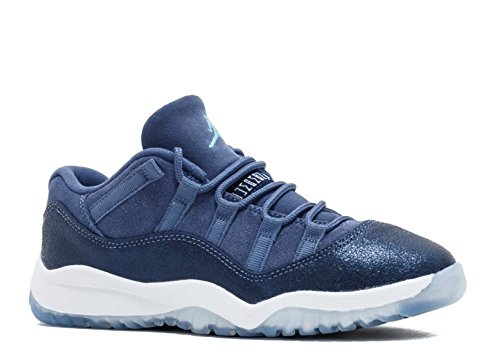 Jordan 11 Retro Low GP Little Kid's Shoes Blue Moon/Polarized Blue 580522-408 (11 M US)