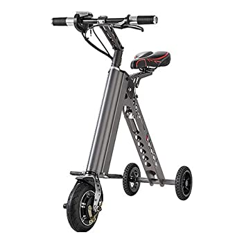 YTBLF Plegable Simple Mini Bicicleta Eléctrica Plegable Eléctrica Bicicleta De Litio Batería Scooter Patín Inteligente Adulto