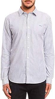 Camisa Listrada Classic, Colcci, Masculino
