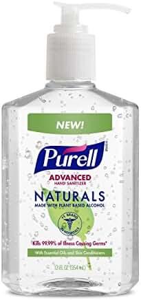 PURELL Advanced Hand Sanitizer NATURALS 12oz Pump Bottle