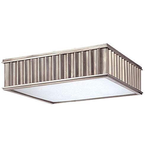 Hudson Valley Lighting 931-HN Middlebury Collection - Two Light Flush Mount, Historic Nickel Finish ()