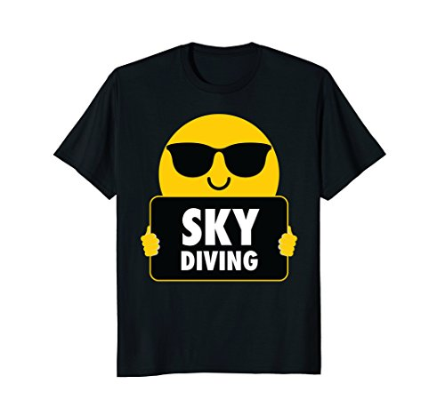 Skydiving Shirt Sunglasses T-Shirt - Sunglasses Skydiving