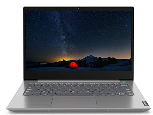 Lenovo ThinkBook 14 Intel Core i5 10th Gen 14-inch Full HD Thin and Light Laptop (8GB RAM/ 1TB HDD/ Windows 10 Home with Lifetime Validity/ Mineral Gray/ 1.49 kg), 20RV00DDIH