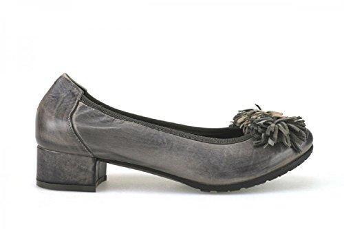 CALPIERRE 35 EU Zapatos de Salón Gris Cuero AJ387