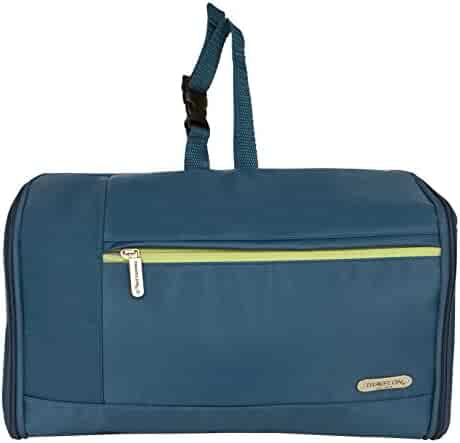 Travelon Flat-Out Toiletry Kit, Steel Blue, One Size