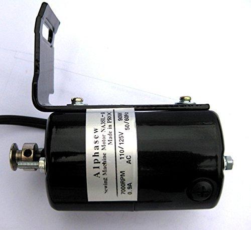 BlueArrowExpress Universal Sewing Machine Motor L Type 110V w/Bracket NA35L-HS by BlueArrowExpress