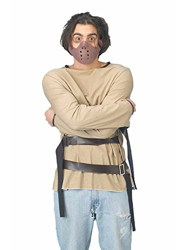 Straight Jacket Costume For Women (Straight Jacket Adult Costume One-Size)