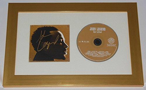 John Legend Get Lifted Beautiful Hand Signed Autographed Music Cd Cover Compact Disc Framed Display (Framed Sampler)
