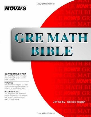 GRE Math Bible by Jeff Kolby (2008-08-01)