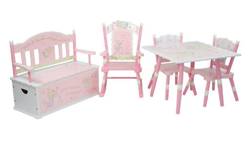 Fairy Wishes Table & 2 Chair Set by Wildkin (Image #1)