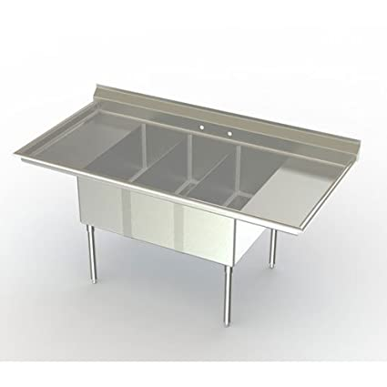 Stainless Steel Commercial Mop Sink Size: 24\