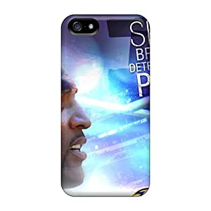 Anti-Scratch Hard Phone Cover For Iphone 5/5s With Support Your Personal Customized Nice Baltimore Ravens Pictures KaraPerron