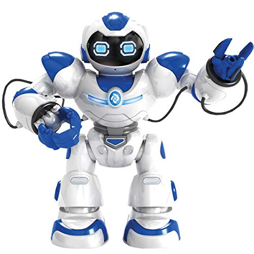 Kids Tech VA90022 Interactive Robot with Remote Control, Robot Can Sing, Dance, and Shoot A Ball Toy, Grab and Deliver Objects, Test Accuracy, Interactive Robot, Slow Walks, White by Kids Tech (Image #5)