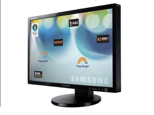 """24"""" Samsung SyncMaster 245BW DVI Blu-ray 1080p Widescreen LCD Monitor w/HDCP Support (Gloss Black)"""
