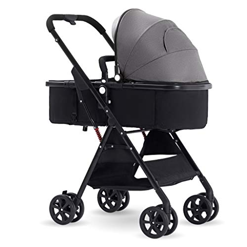 YRSTC Poussette Pour Bebe, Poussette canne,Portable Travel Baby Stroller Pram with All-Terrain Tires,High Landscape Travel Baby CarriageLightweight Shockproof Pushchairs for Baby (Color : A)