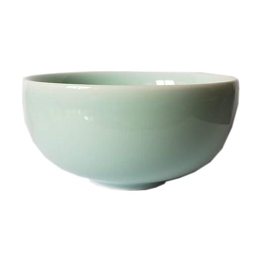 Chino Celadon 4,5 pulgadas cuenco de arroz se puede usar en ...