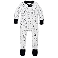 Burt's Bees Baby - Twinkle Bee Sleeper, 100% Organic Cotton, Midnight (0-3 Mo...