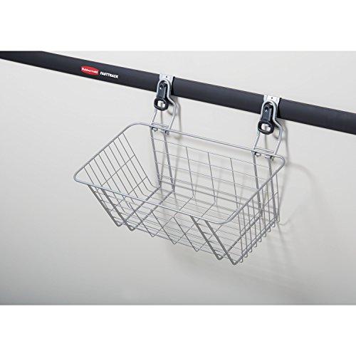 Rubbermaid FastTrack Garage Storage Wire Mesh Basket, 1784453