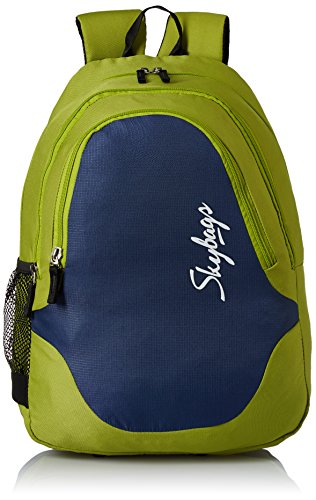 Skybags Groove 21 Ltrs Green Casual Backpack (BPGRO1GRN)