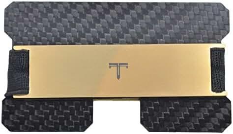 Tribe Carbon Fiber RFID Blocking Minimalist Card Wallet