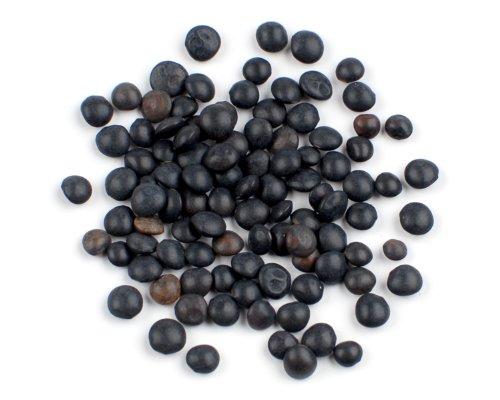 Black Lentils, 25 Lb Bag by Woodland Ingredients