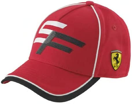 Ferrari Scuderia - Gorra Infantil, Color Rojo: Amazon.es: Coche y moto