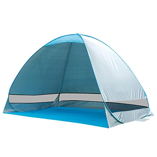Canvas Sleeping Cabana : G free outdoor automatic pop up instant portable cabana
