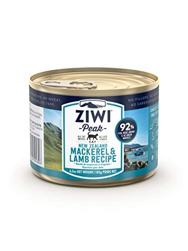 ZIWI Peak Canned Mackerel & Lamb Recipe Cat Food (Case of 12, 6.5 oz. Each)