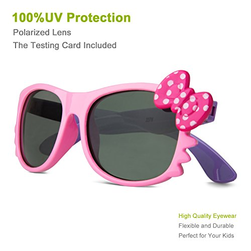 a2938eb9397 RIVBOS RBK002 Rubber Flexible Kids Polarized Sunglasses for Baby and Children  Age 3-10 (Mirrored Lens Available) - Buy Online in Oman.