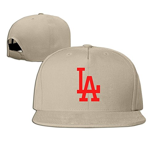 Unisex Los Angeles LA Logo Baseball Cap - Angeles Los Macy
